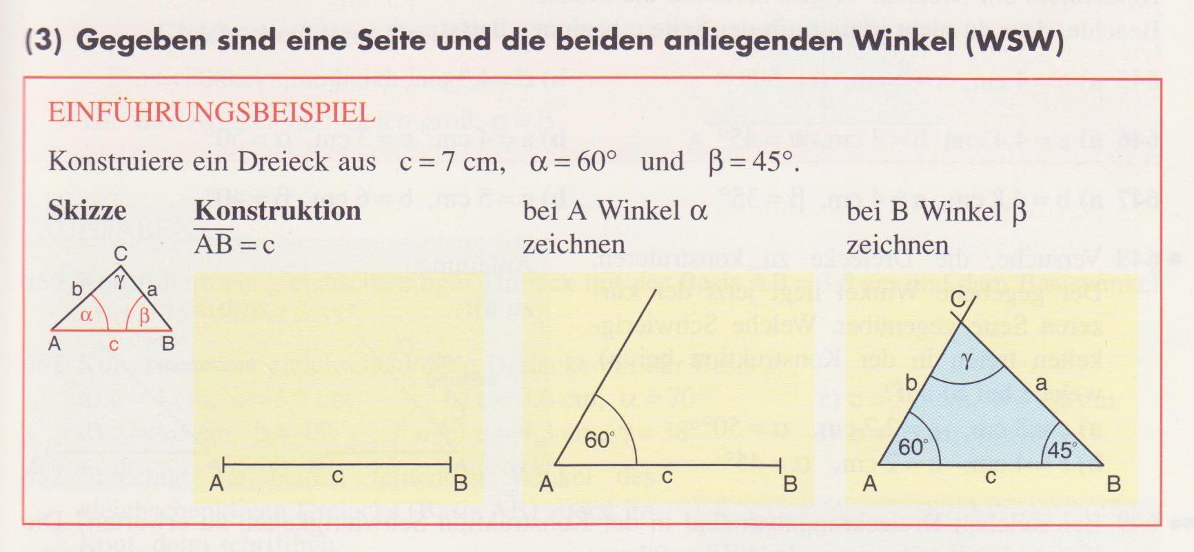 Dreieck - Lernpfad